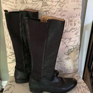 FRYE garnet mid calf boots